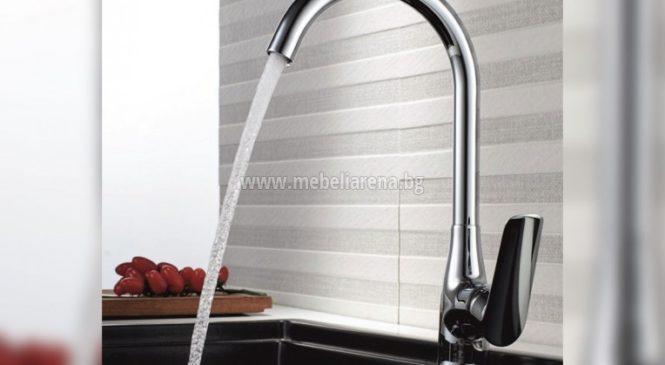 За да е удобно в кухнята изберете смесител от Мебели Арена